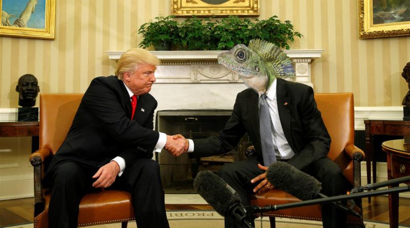 Conspiracy Corner: Reptilians infiltrate Government
