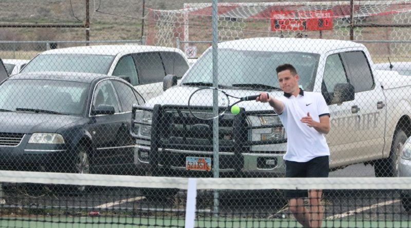 Boys tennis remains focused on a region title goal