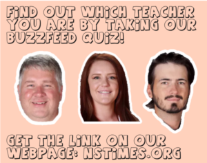 Click here to take the quiz to find out which NS Teacher you are!